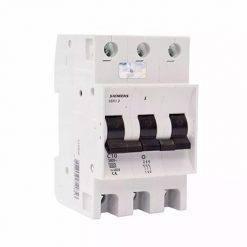 Interruptor Termomagnético Tripolar SIEMENS