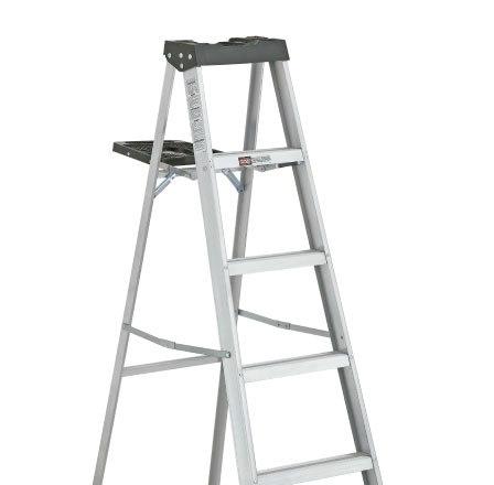 Escalera de tijera de aluminio SERIE-2315 DAVIDSON