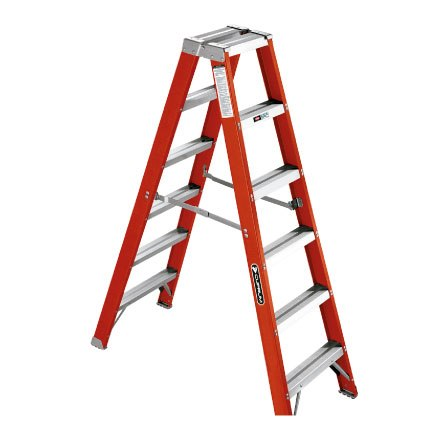 Escalera doble tijera de fibra de Vidrio - MODELO 530 - CUPRUM