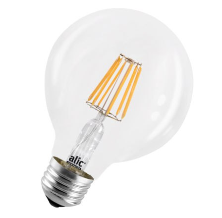 Lámpara Globo LED Style 8W - Luz Cálida - ALIC