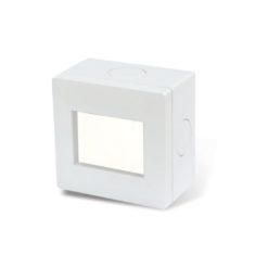 31986 – Caja exterior Siglo XXII 2 modulos con ventana traslucida flex. IP55 B - 4263