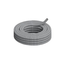 32626 - Caño corrugado semipesado pvc gris 1 - genrod