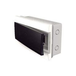 36943 - Caja exterior para 12 módulos puerta fume energy genrod.