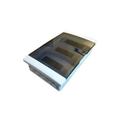 36946 - caja exterior para 48 módulos puerta fume energy genrod