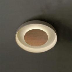 103830 plafón led demi 14,7w cerámica y hierro a3